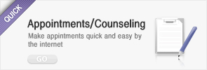appointments/counseling