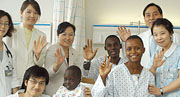 Korean medical specialists' heart surgery moves the hearts of Ugandan people