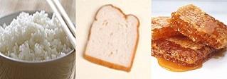 밥, 식빵, 꿀