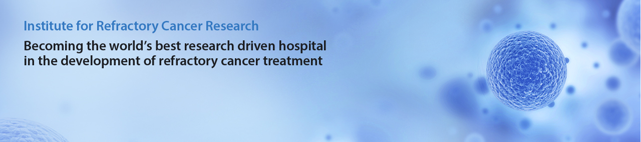Becoming the world's best research driven hospital in the development of refractory cancer treatment